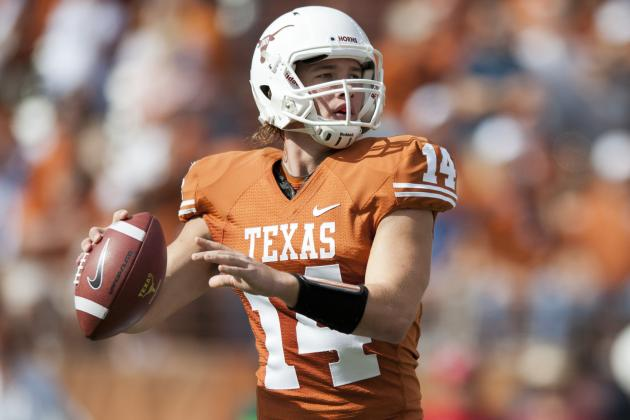 Texas Football: Why David Ash Should Start over Case McCoy in the Alamo Bowl