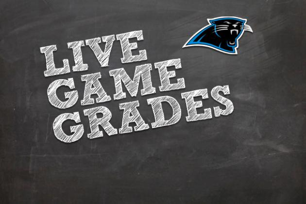 Final Grades for Panthers Against Falcons