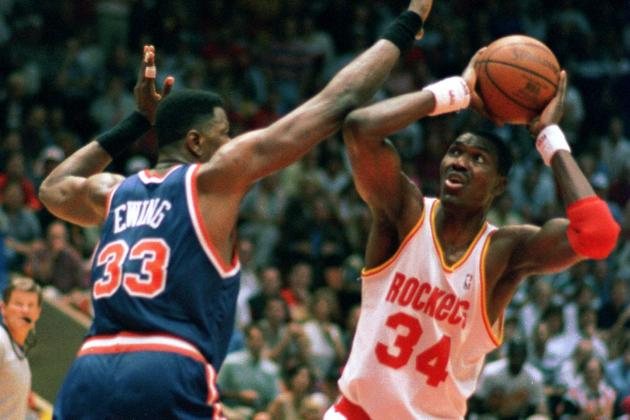 Ranking the Top 5 Coolest Jerseys in Houston Rockets History