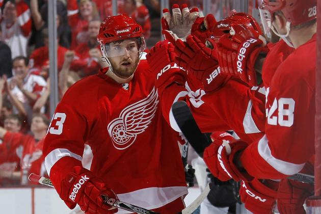 Detroit Red Wings: Power Ranking the Red Wings'