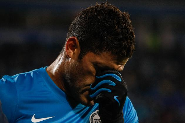 Hulk: Possible Transfer Destinations for Zenit Striker After Huge Row