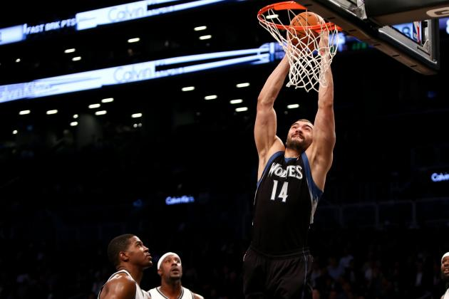 Ranking Nikola Pekovic Among the Best Minnesota Timberwolves Centers of All Time