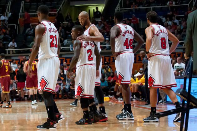 First-Quarter Report Card Grades for Each Member of the Chicago Bulls