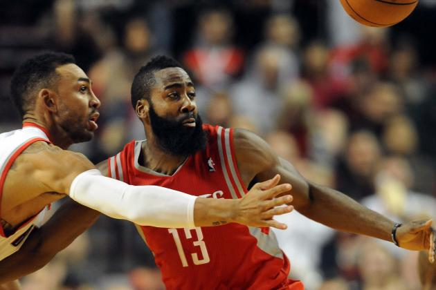 Ranking James Harden with Best Shooting Guards in the NBA