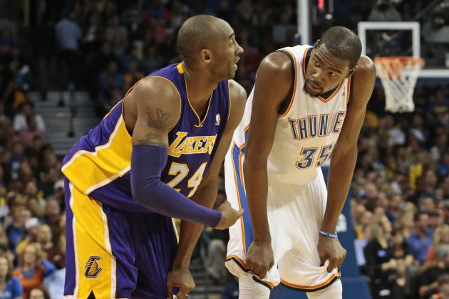 Breaking Down Top Players for 2012-13 Scoring Title at NBA Quarter-Season Mark