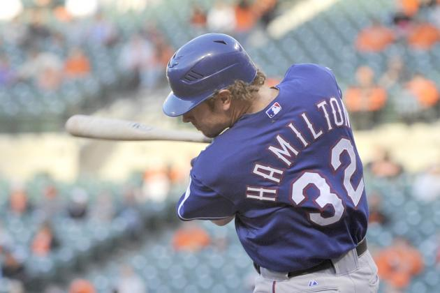 Post-Winter Meetings Odds of Winning the Josh Hamilton Sweepstakes
