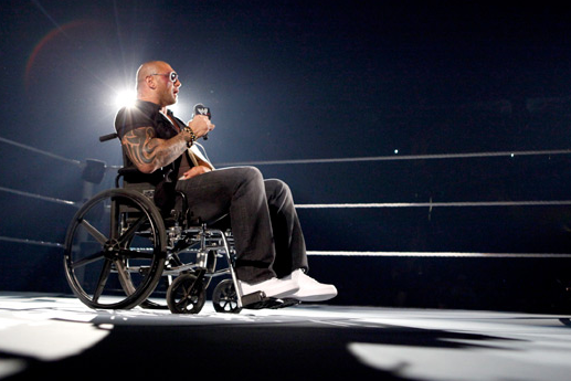 WWE's CM Punk:  Will He Join Other Wheelchair-Bound Stars?