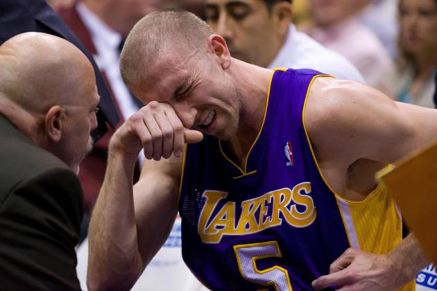 Rehab Checklist for Steve Blake's Return to the Los Angeles Lakers
