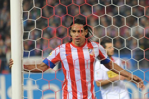 Falcao Joins Messi and Shearer in the