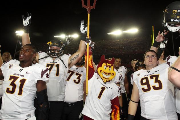 Kraft Fight Hunger Bowl 2012: 5 Areas Where Arizona State Is Better Than Navy