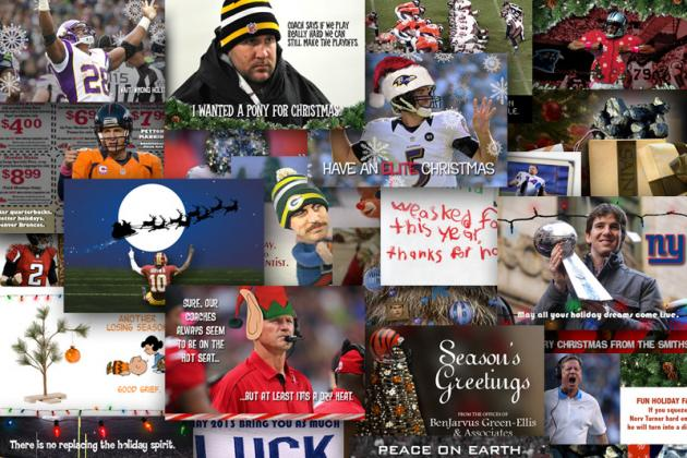 2012 Holiday Cards for Every NFL Team