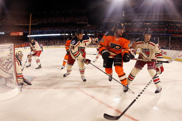 NY Rangers Versus Philadelphia Flyers: Best Moments from the Rivalry