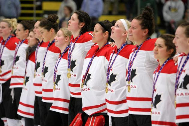 25 Greatest Moments in 2012 Women's Hockey