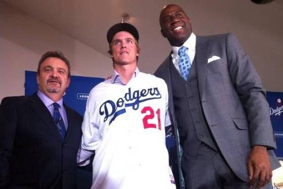 All the Top Pictures, Quotes from Zack Greinke's Dodgers Press Conference