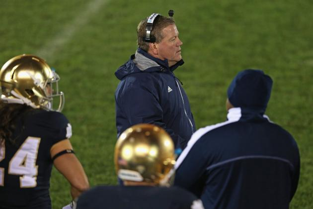 Notre Dame Football: Comparing 1988 Championship Team to Brian Kelly's 2012 Unit