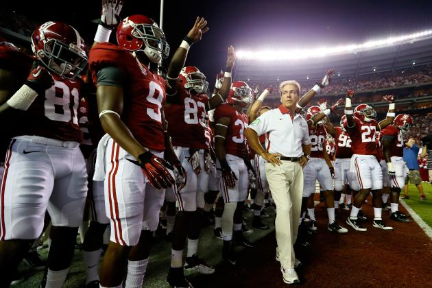 Alabama Football: How Crimson Tide Would Fare vs. 2012 AP All America Team