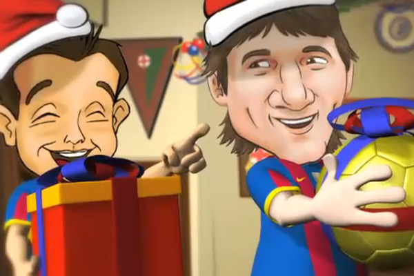 2012 FC Barcelona's 12 Days of Barca