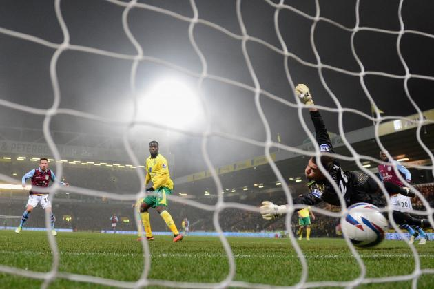 Norwich City vs. Aston Villa: 6 Things Learned from Capital One Cup Quarterfinal