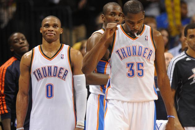 Top 10 Highlights from Oklahoma City Thunder's First Quarter of the Season