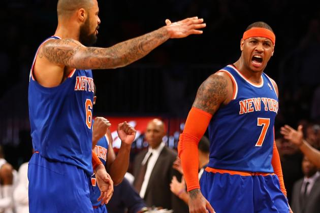 First Quarter Report Card Grades for Each Member of the NY Knicks