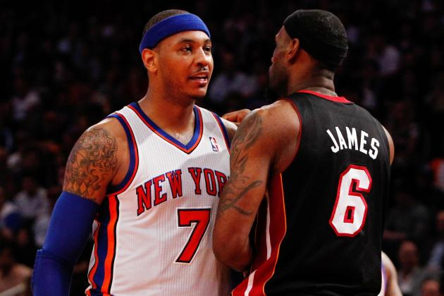 Carmelo Anthony and Superstars Who Belong in the MVP Discussion