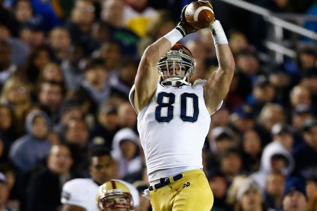 BCS Championship 2013: Comparing Notre Dame and Alabama's WRs and TEs