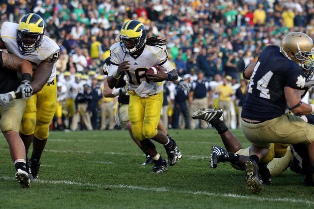 Michigan Football: Recalling Denard Robinson's  5 Greatest Collegiate Moments