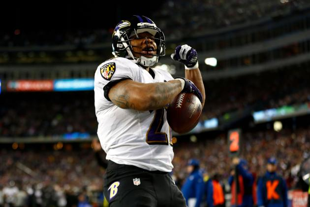 B/R NFL 1,000 2013: Top 90 Running Backs
