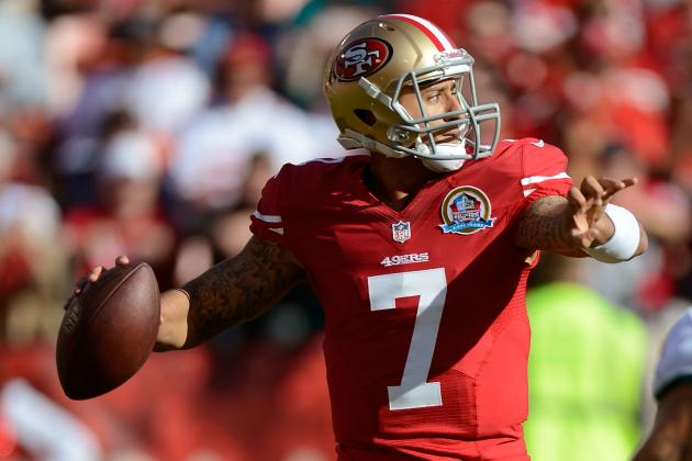 Analyzing Colin Kaepernick's Performance in His 4 Starts