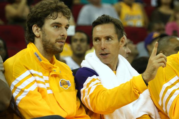 Ranking Steve Nash's Favorite Targets Once He Returns to LA Lakers