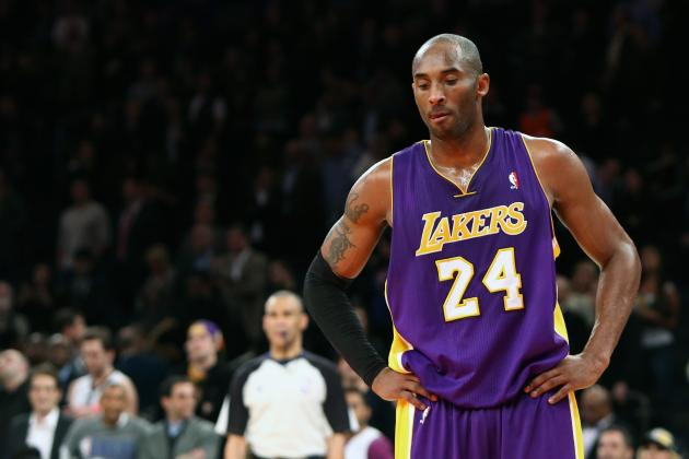 Ranking the NBA's Aging Stars at Quarter-Season Mark