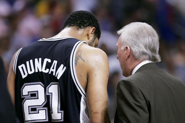 Gregg Popovich, Tim Duncan and the NBA's Greatest Player-Coach Relationships