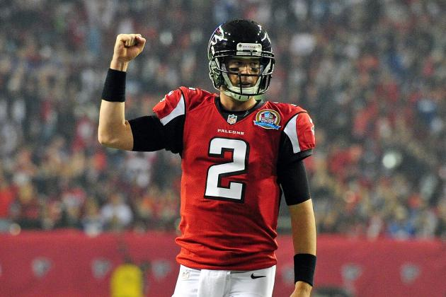 The 10 Best Highlights of the Atlanta Falcons' 2012 Season so Far