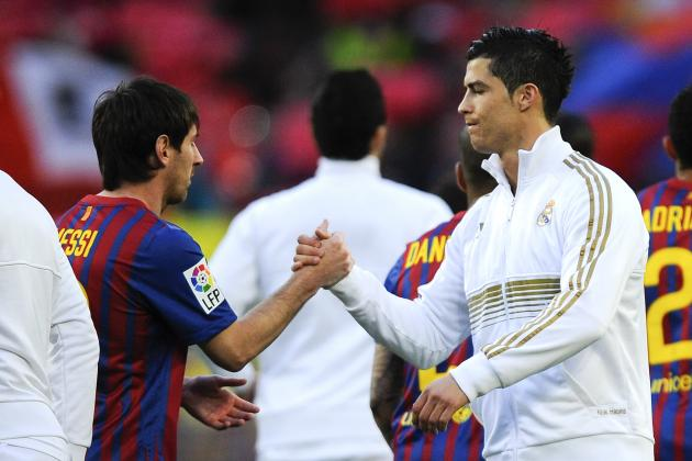Ronaldo, Messi and the Liga Team of 2012