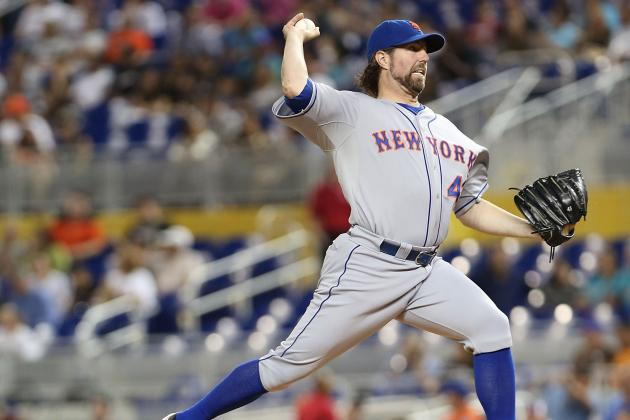 Bold Predictions for R.A. Dickey in the American League After Reported Trade