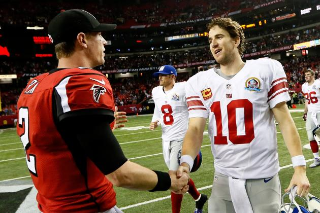 Giants vs. Falcons: Winners and Losers from Big Blue's 34-0 Loss in Atlanta