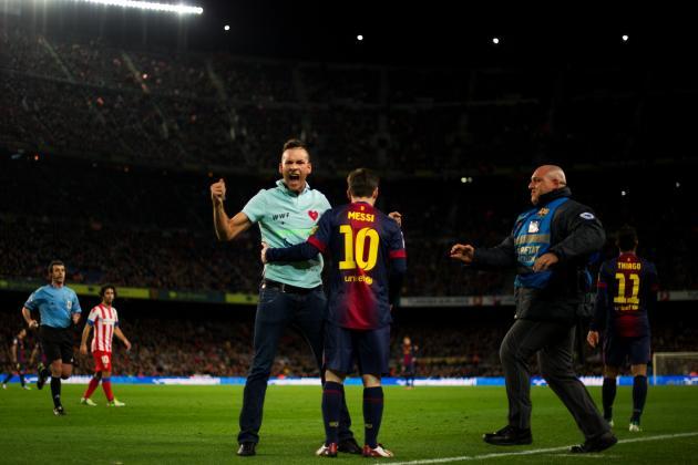 Lionel Messi, Cristiano Ronaldo and Falcao Lead La Liga's Team of the Week