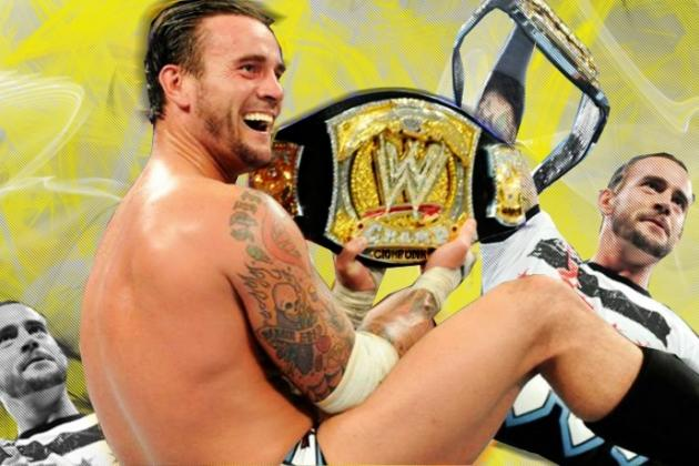 WWE TLC 2012 Results: CM Punk and the Top 5 Challengers for the WWE Title