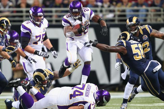 Fantasy Football: Adrian Peterson Leads 24-Member 'Week 15 Dream Team'