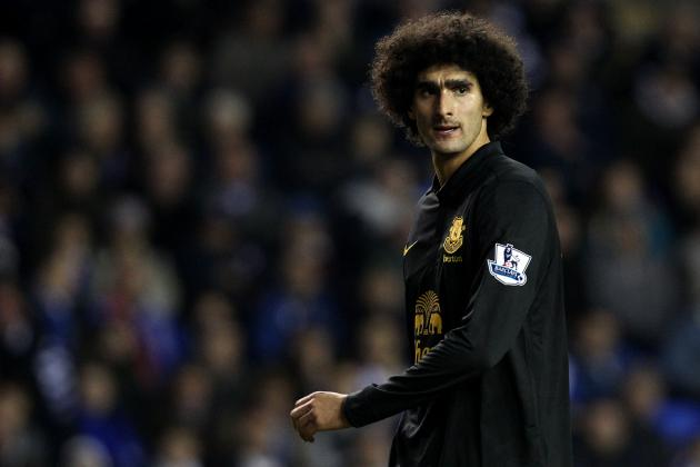 Marouane Fellaini Transfer: 5 Possible Options for Everton Midfielder