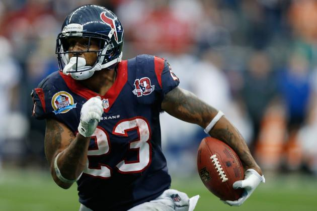 Arian Foster and the 5 Biggest Fantasy Football Busts for 2013