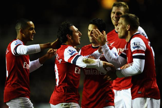 Rating the Arsenal Players Against Reading
