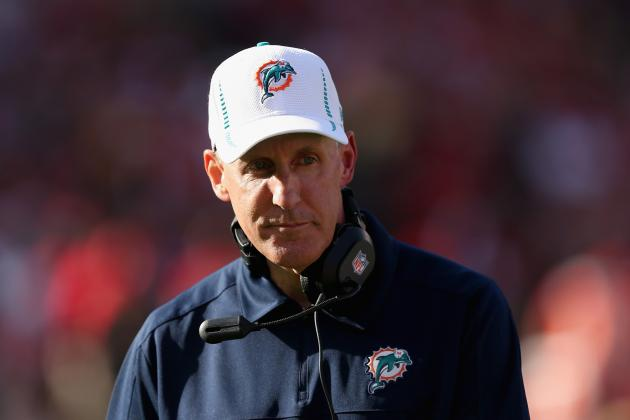Assessing Job Security for Joe Philbin, Rest of Miami Dolphins' Coaching Staff