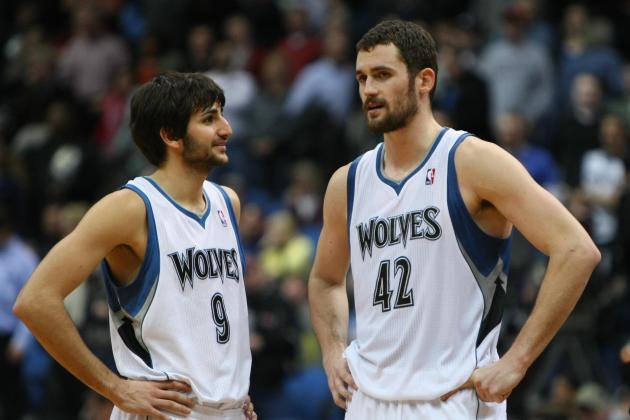 Report Card Grades for Ricky Rubio-Kevin Love's 1st Game of 2012-13