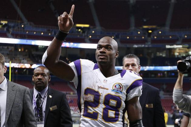 Re-Ranking the NFL MVP Race as Adrian Peterson Continues Monster Season