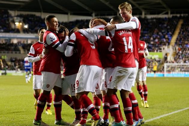 Reading vs. Arsenal: Grading the Gunners