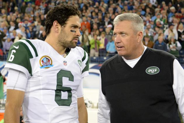 Guessing 5 Reasons Rex Ryan Continues to Stick with Mark Sanchez
