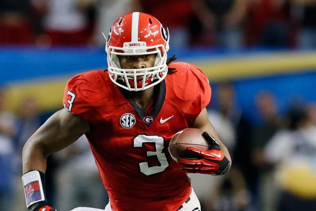 Georgia Football: 5 Reasons the Bulldogs Will Lead the Nation in Rushing in 2013