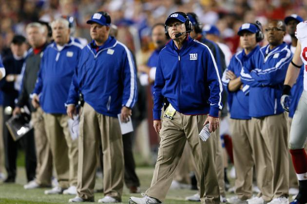 New York Giants: Assessing Job Security for Members of Giants Coaching Staff