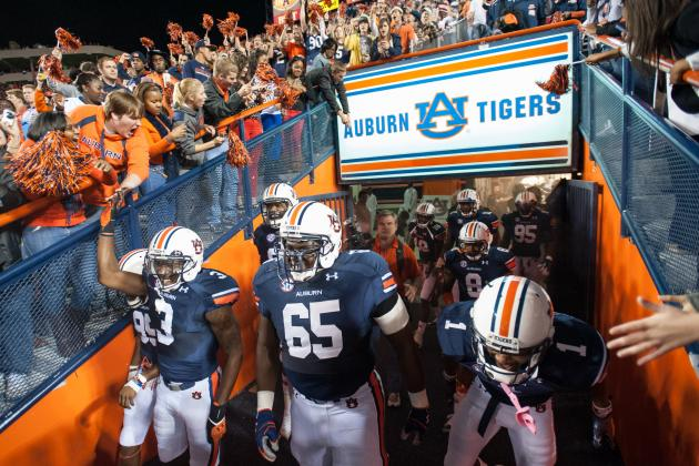 Auburn Football: 12 Days of an Auburn Football Christmas